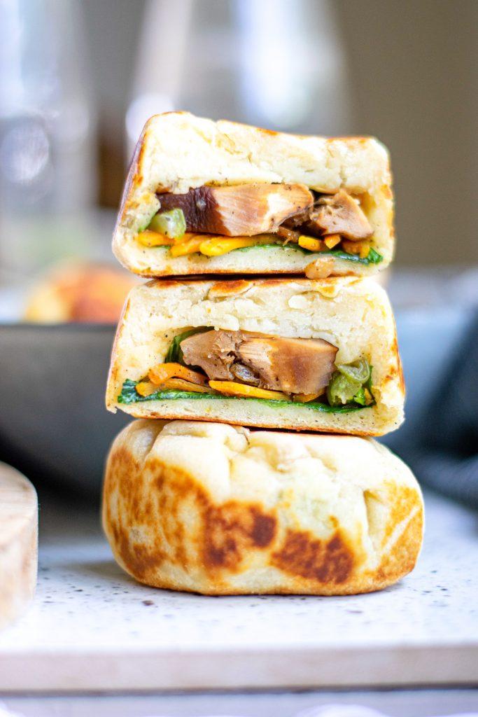 60 Vegan Asian Recipes - Vegan Bao Buns with Vegetables | Hurry The Food Up
