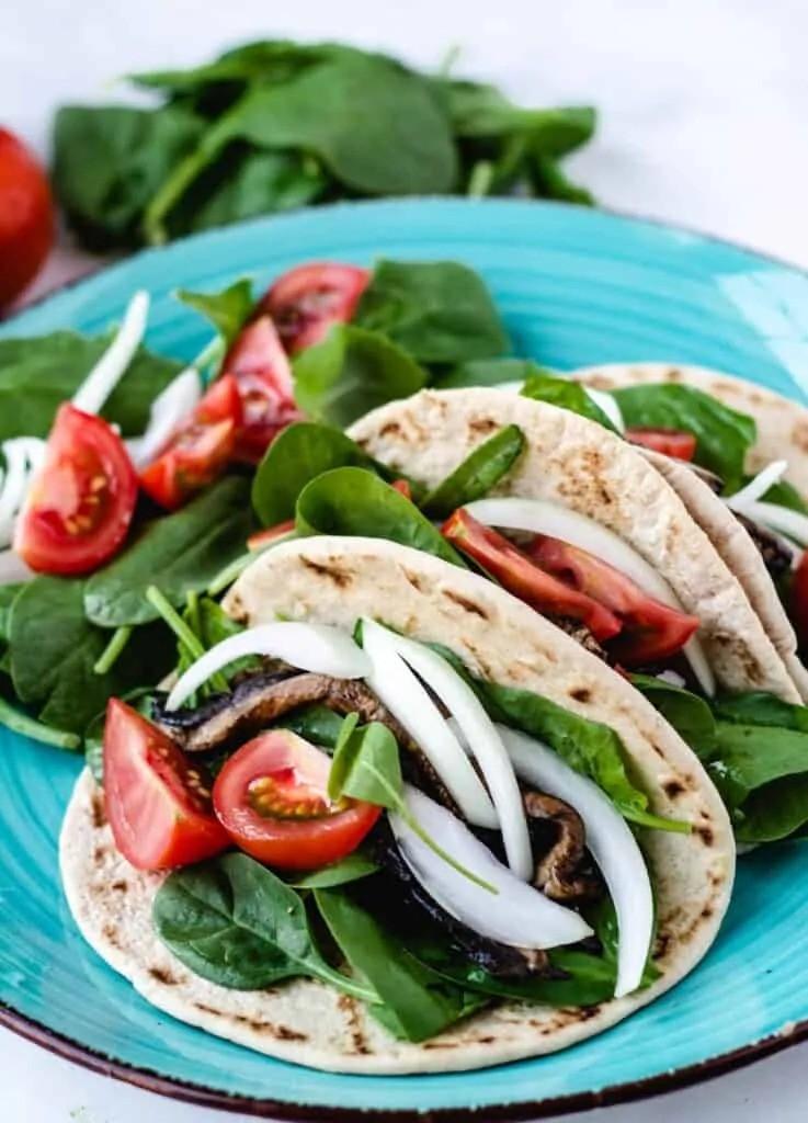 30 Best Vegan Sandwich Recipes - Vegan Bao Buns with Portobello Mushrooms | Hurry The Food Up