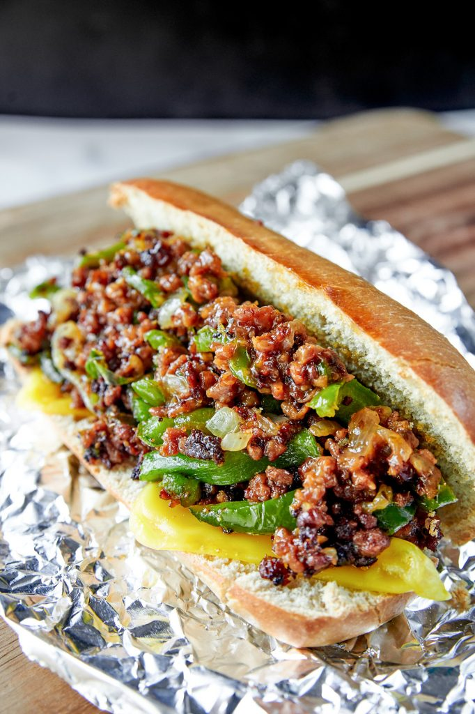 30 Best Vegan Sandwich Recipes - Easy Vegan Philly Cheesesteak | Hurry The Food Up