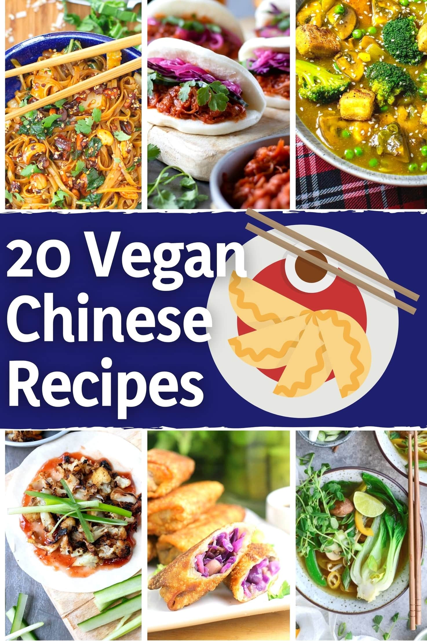 20 Delicious Vegan Chinese Recipes - title image | Hurry The Food Up
