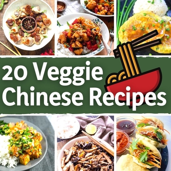 20 Mouth-Watering Veggie Chinese Recipes - Featured Image | Hurry The Food Up