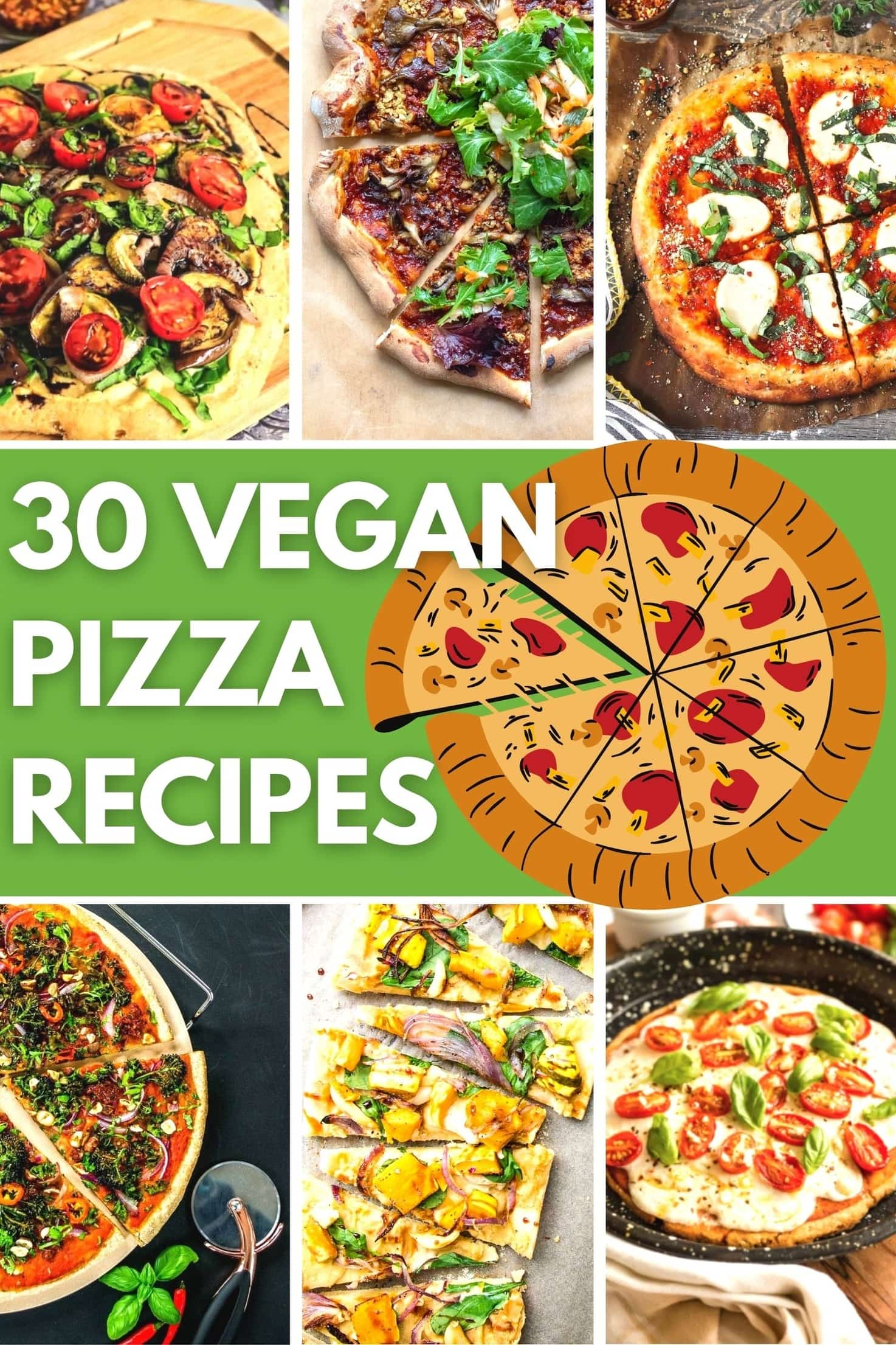 30 Ingenious Vegan Pizza Recipes | Hurry The Food Up