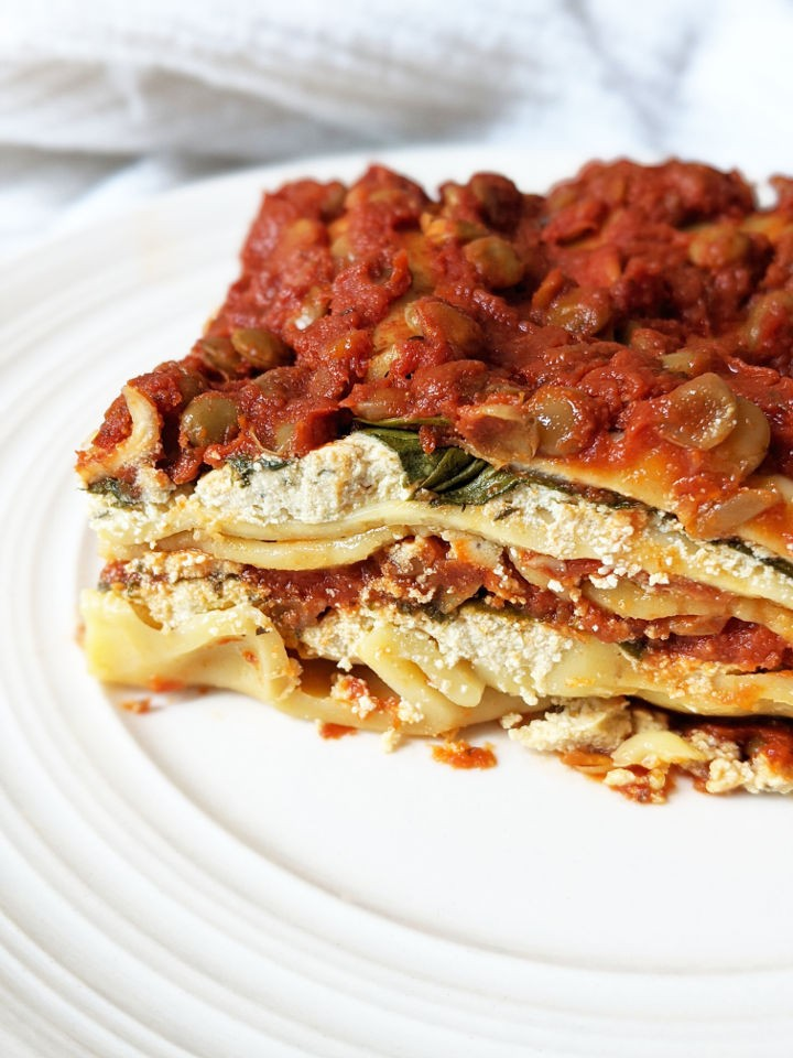 30 Low Fat Vegan Recipes - Easy Vegan Lasagna | Hurry The Food Up
