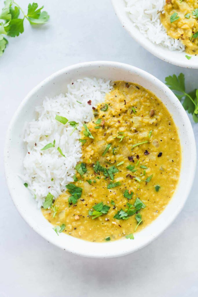 60 Perfect Vegetarian Dinner Recipes - Lentil Dahl   Hurry The Food Up