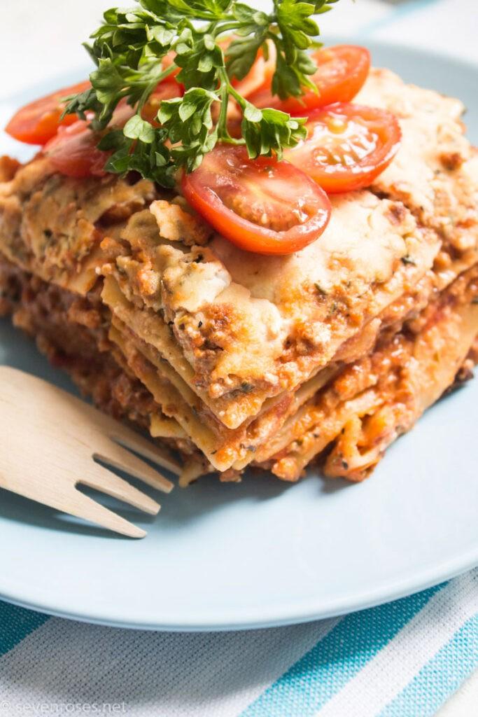 30 Vegan Italian Recipes - Easy Vegan Lasagna | Hurry The Food Up