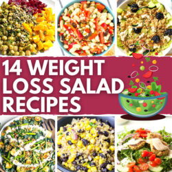 15 Weight Loss Salad Recipes - No limp lettuce here | Hurry The Food Up