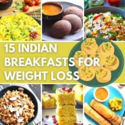 15 Incredible Indian Breakfasts for Weight Loss - Featured Image | Hurry The Food Up