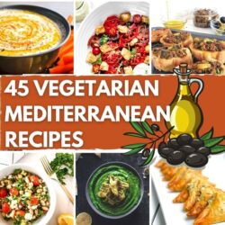 45 Summery Vegetarian Mediterranean Recipes - Featured Image | Hurry The Food Up