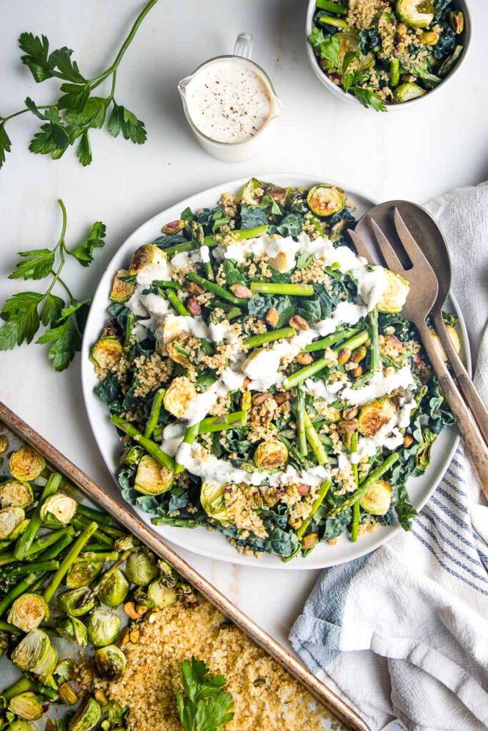 14 Weight Loss Salad Recipes - Crunchy Quinoa Salad | Hurry The Food Up