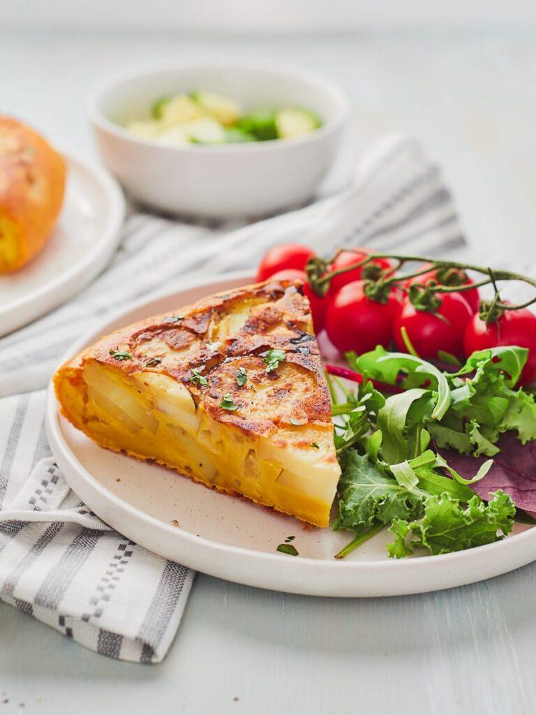 45 Vibrant Vegan Mediterranean Recipes - Vegan Tortilla   Hurry The Food Up