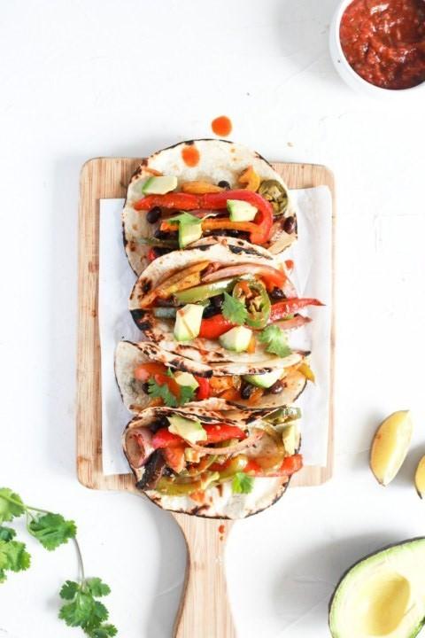 40 Vegan Low Calorie Meals -Easy Vegan Black Bean Sheet Pan Taco | Hurry The Food Up