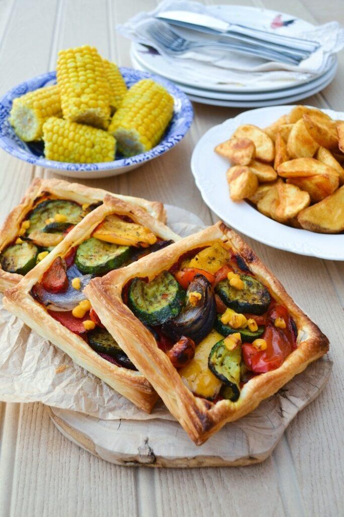 45 Vibrant Vegan Mediterranean Recipes - Mediterranean Tart   Hurry The Food Up