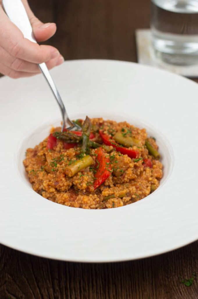 40 Vegetarian Low Calorie Meals - Moroccan Couscous | Hurry The Food Up
