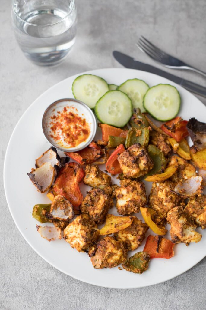Top 10 Indian Recipes for Weight Loss - Paneer Tikka | Hurry The Food Up