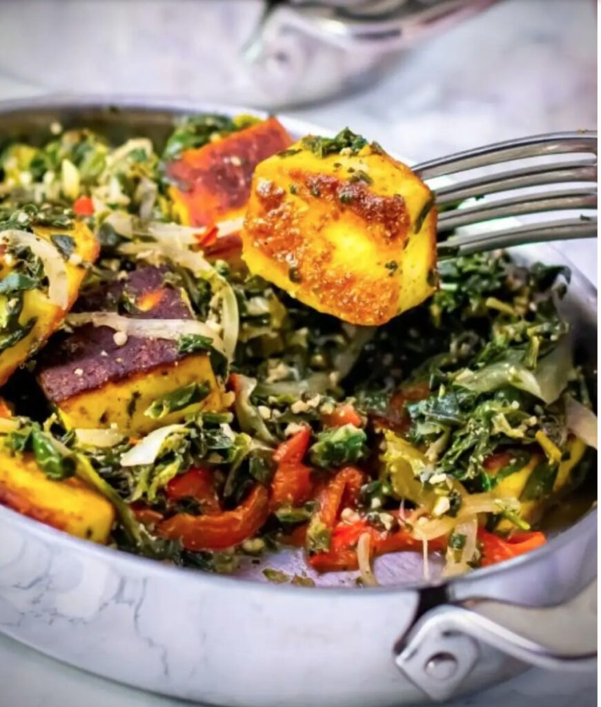 Top 10 Indian Recipes for Weight Loss - Saag Paneer | Hurry The Food Up