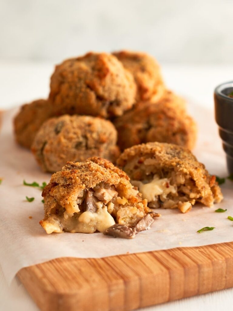 45 Vibrant Vegan Mediterranean Recipes - Vegan Arancini Balls   Hurry The Food Up