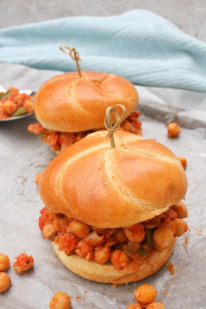 40 Vegetarian Low Calorie Meals - Vegan Sloppy Joe | Hurry The Food Up
