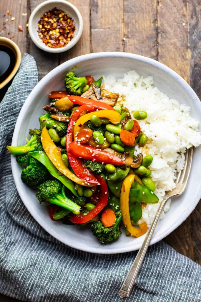 40 Vegetarian Low Calorie Meals - 30-minute Stir Fry Vegetables | Hurry The Food Up