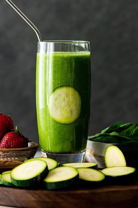 Top 10 Vegetable Smoothies - Zucchini Smoothie | Hurry The Food Up