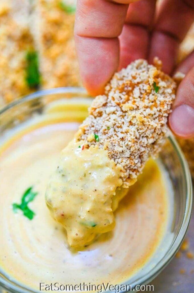 25 Vegan Zucchini Recipes - Baked Vegan Zucchini Fries| Hurry The Food Up
