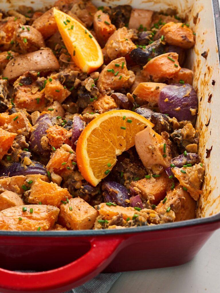 30 Lazy Vegan Recipes – Butternut Squash Traybake   Hurry The Food Up