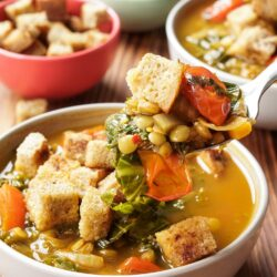 Lentil Vegetable Soup   Hurry The Food Up