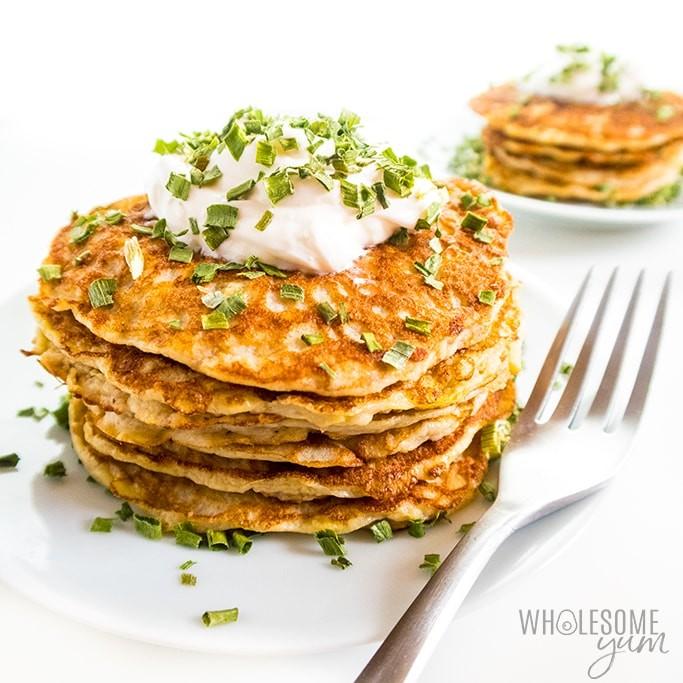 25 Vegan Zucchini Recipes - Zucchini Fritters| Hurry The Food Up