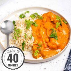Vegan Tikka Masala – Chuck the chicken! | Hurry The Food Up