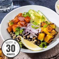 Black Bean Burrito Bowl - A Tastebud Fiesta | Hurry the food up