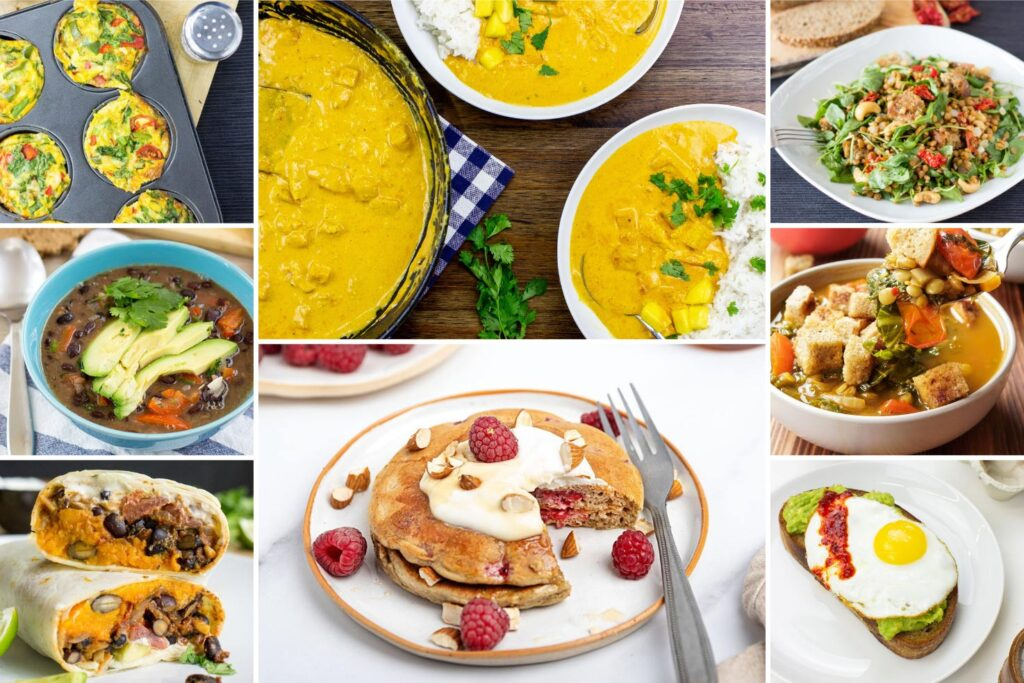 Comforting Evenings meal plan | Hurry The Food Up