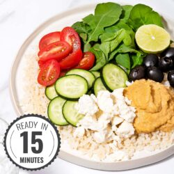Mediterranean Rice Bowl featured image | Hurry The Food Up