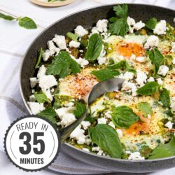 Spinach and Chickpea Bake featured image | Hurry The Food Up