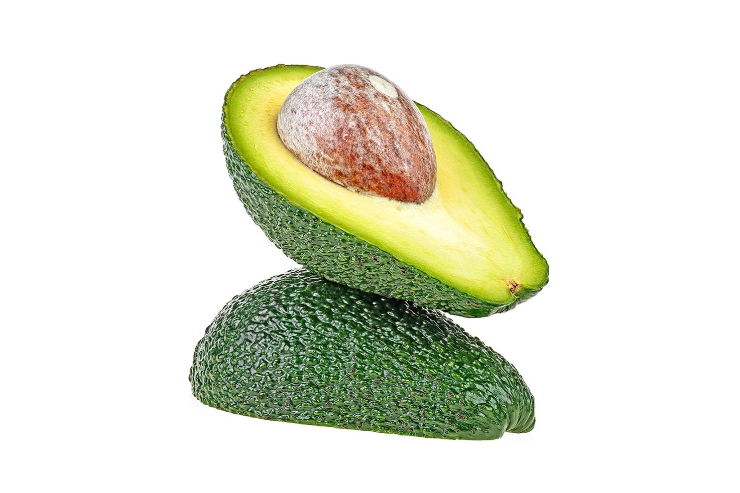 Two halves of avocado | Hurry The Food Up