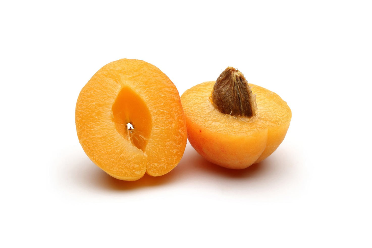 Two halves of apricot | Hurry The Food Up