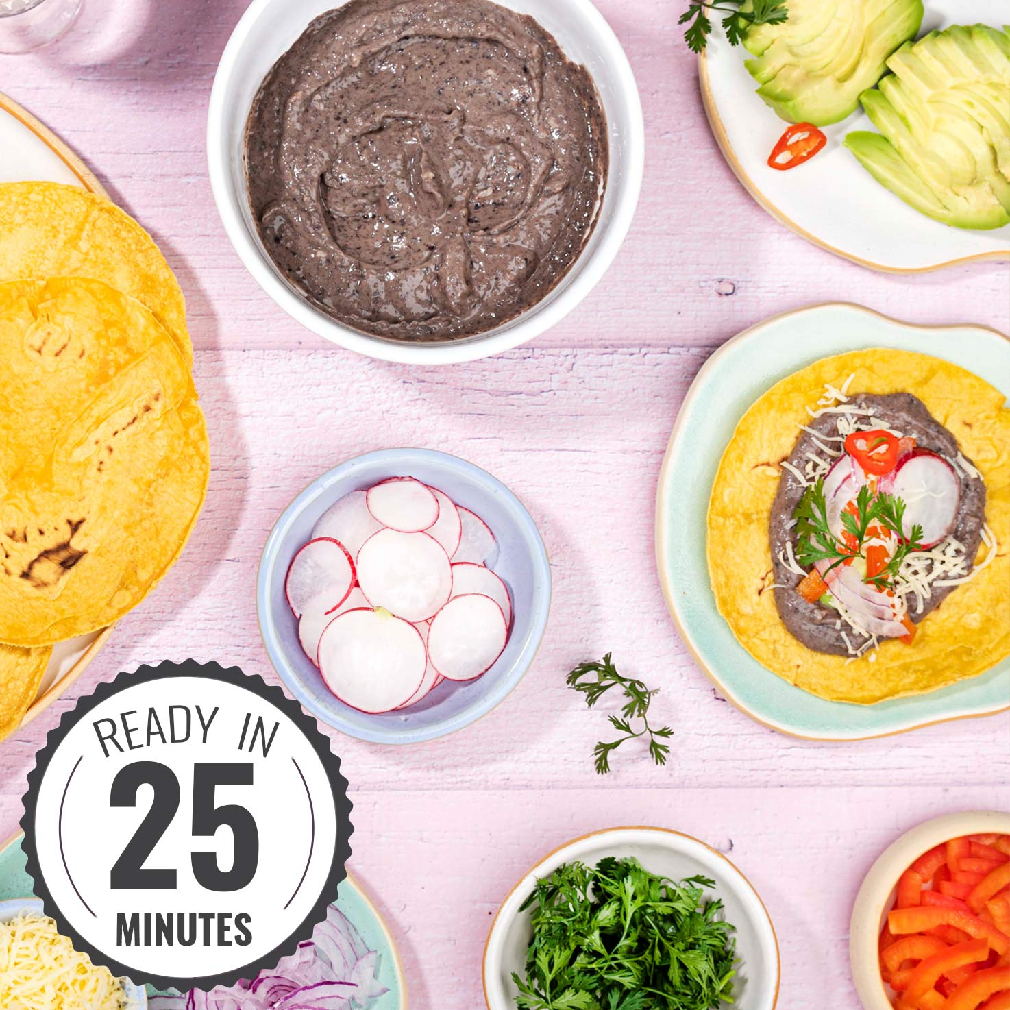 Healthy Refried Beans recipe | Hurry The Food Up