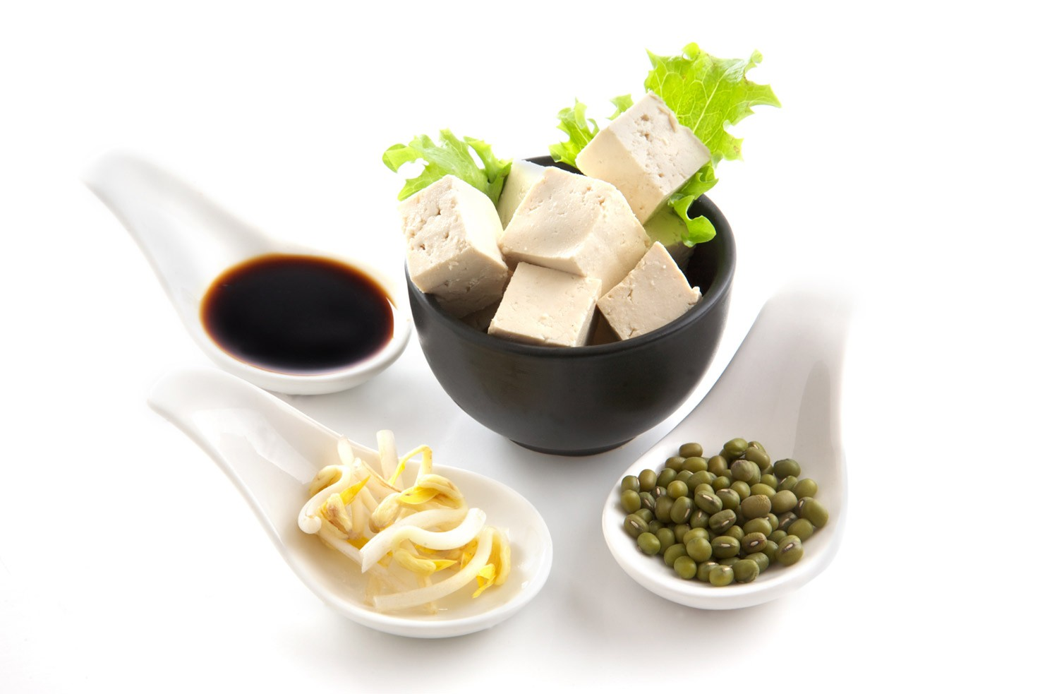 Soy products like tofu, soy sauce, soy beans etc. | Hurry The Food Up