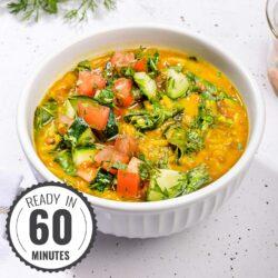 Weight Loss Dal Khichdi & Kachumber Salad - DAL-ightful! | Hurry The Food Up